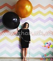 Одноцветный шар-гигант,  65 сантиметров