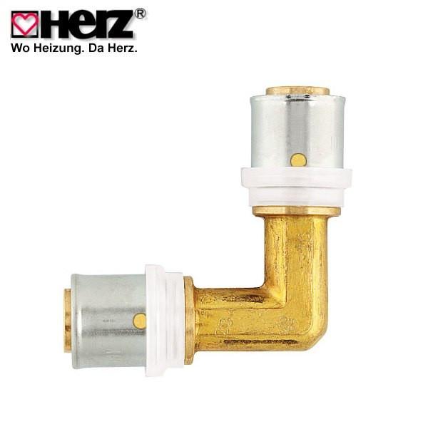 Колено HERZ Pipe Fix 16х90