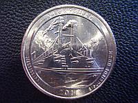 """25 центов 2011 США """"Виксбург"""" (Vicksburg) 9-й парк"""