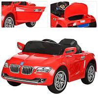 Детский электромобиль BMW M 3152 EBR-3 красный, мягкие колеса