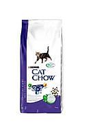 Кет Чау Feline 3в1 сух/кот 15кг