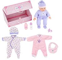 Большой пупс в комплекте с одеждой и аксессуарами You & Me 14 inch Doll with Trunk and Accessories - Caucasian, фото 1
