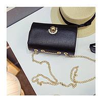 Черная женская сумка, кроссбоди