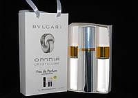 Наборы духов по 15мл 3шт Bvlgari Omnia Crystalline