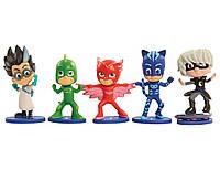 Коллекционные фигурки Герои в масках -Ромео, Луна Герл, Кэтбой Гекк Just Play PJ Masks Collectible Figure Set