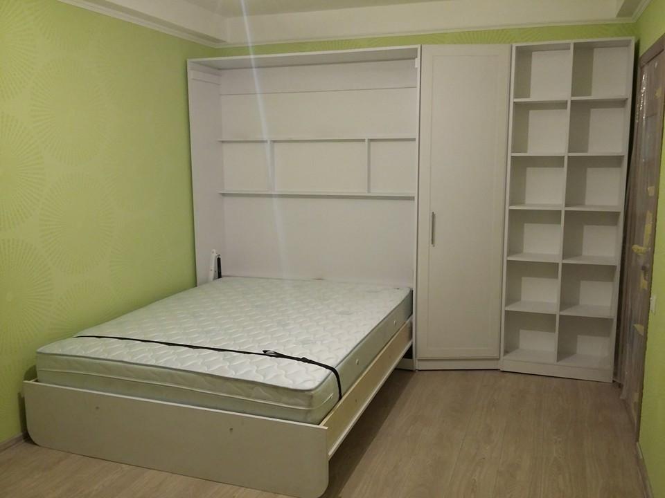 Шкаф-кровать с открытыми полками, фото 1