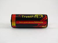 Аккумулятор Trustfire Li-ion 26650 5000mAh  3.7V, фото 1
