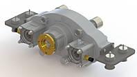 Сплит вал (Split shaft) отбора мощности (редуктор) горизонтальный для многотоннажных машин (3-8 тонн)