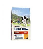 АКЦИЯ! DOG CHOW Active для активних и робочих собак 14кг