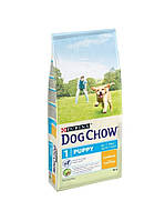 АКЦИЯ! DOG CHOW Puppy (щенок) с Курицей 14кг