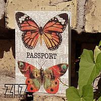 Обложка для паспорта Бабочка