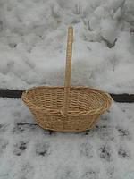Плетеная подарочная корзина, фото 1