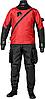 Мужской сухой гидрокостюм триламинат Bare X-Mission, красный