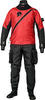 Мужской сухой гидрокостюм триламинат Bare X-Mission, красный, фото 1