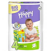 Подгузники Happy 4 ( 8-18 кг) 66 шт