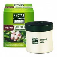 Чистая линия Крем для сухой и чувствительной кожи толокнянка и масло шиповника   от 55 лет