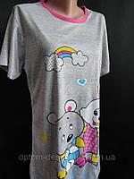 Купить летние ночные рубашки молодежные, фото 1