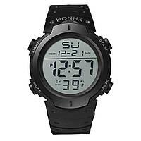 Наручные водостойкие часы HONHX Waterproof Men's Boy LCD Digital Stopwatch Date, фото 1