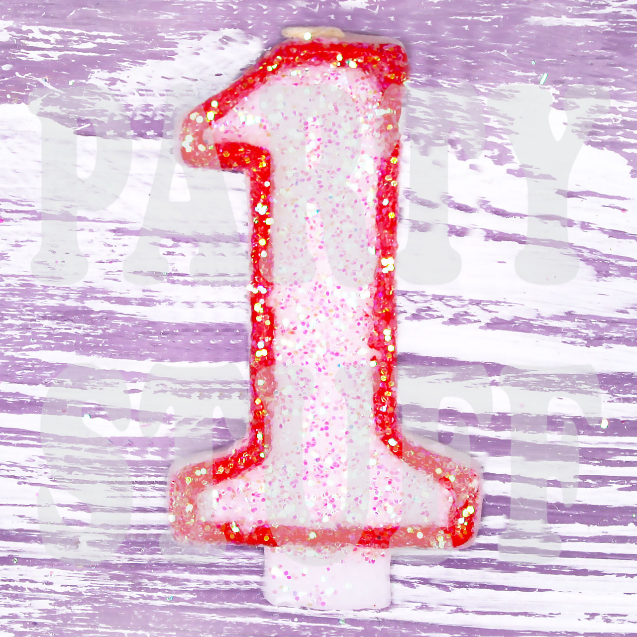 Свечка цифра 1
