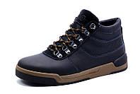 Зимние ботинки Gekon мужские, на меху, натуральная кожа, черные, р. 40