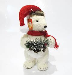 Новогодняя декоративная фигура Медведь