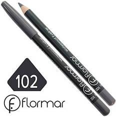 FlorMar - Карандаш для глаз водостойкий Тон №102 grey матовый