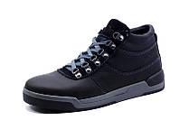 Зимние ботинки Gekon мужские, на меху, натуральная кожа, черные., р. 40