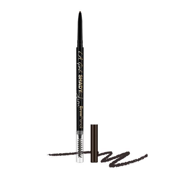 L.A.Girl GB359 Shady Slim Brow Pencil Blackest Brown-Карандаш для бровей (для темных коричневых тонов)