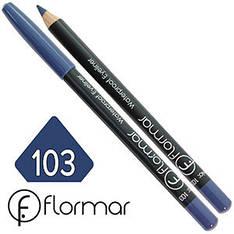 FlorMar - Карандаш для глаз водостойкий Тон №103 dusty blue матовый