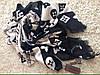 Палантин Louis Vuitton черно-белый, фото 2