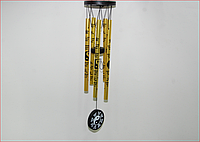 Музыка ветра Инь-Ян  (5 трубочек) в золоте