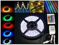 Светодиодная лента RGB+W 5050, 5 м, полный комплект, фото 1