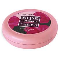 Увлажняющий натуральный крем для лица для любого типа кожи «ROSE OF BULGARIA»  Объем: 100 мл.