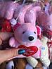 Мягкая игрушка оптом мишка с сердцем