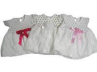 Платье нарядное для девочек, размеры 6,12  месяцев, арт. 1257