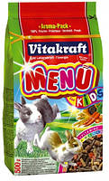 Корм для крольчат Vitakraft Menu Kids (Витакрафт меню кидс) 500 гр