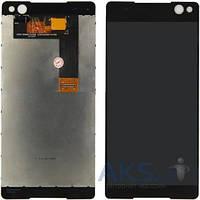 Дисплей (экран) для телефона Sony Xperia C5 Ultra Dual E5533 + Touchscreen Black