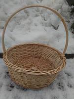 Плетеная подарочная корзина Діаметр дна 30см