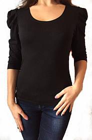 Женская блуза вискоза № 507 черная