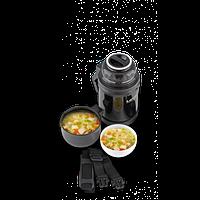 Термос универсальный 2 в 1, термос пищевой и для напитков, фото 1