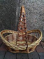 Плетеная подарочная корзина