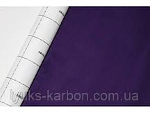 Самоклеющаяся алькантара (замша) фиолетовая 1,35