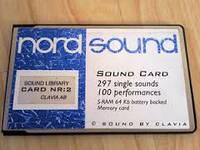 Программное обеспечение Clavia Sound Library 1 Nord  2