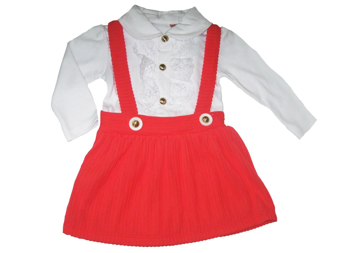 Платье нарядное для девочек, размеры 74, 80, 86 р., арт. 246