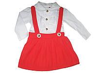 Платье нарядное для девочек, размеры 74, 80, 86 р., арт. 246, фото 1