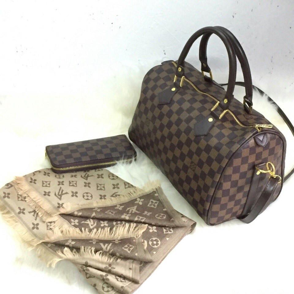 4317cc0dd4a2 ЖЕНСКАЯ СУМКА БОЧОНОК LOUIS VUITTON SPEEDY ЛУИ ВИТОН - ЧЕМОДАНЧИК - самые  красивые сумочки по самой