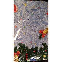 Скатерть льняная новогодняя рождественская  120*150; 150*180; 150*220