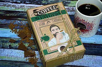 """Подарочный набор с кофе для папы """"For best father"""""""