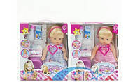 Кукла пупс Baby (Baby Born) интерактивный, звуки, бутылка, горшок, памперс
