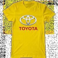 """Мужская футболка с принтом """"Toyota"""""""